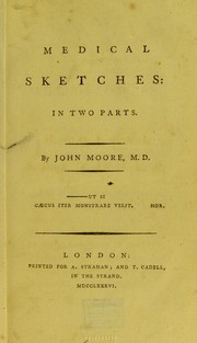 Cover of: Medical sketches