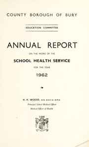 Cover of: [Report 1962]