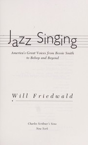 Cover of: Jazz singing | Will Friedwald
