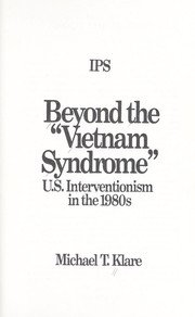 "Cover of: Beyond the ""Vietnam syndrome"""