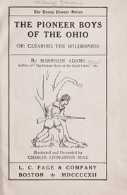 Cover of: The pioneer boys of the Ohio