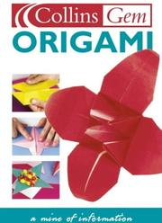 Cover of: Origami