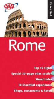 Cover of: Essential Rome (AAA)