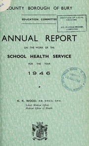 Cover of: [Report 1946]