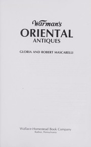 Cover of: Warman's oriental antiques