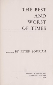 Cover of: The best and worst of times