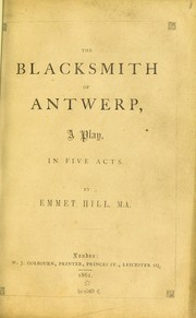 Cover of: The Blacksmith of Antwerp
