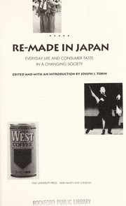 Cover of: Re-made in Japan |