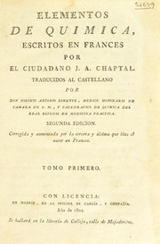Cover of: Elementos de qu©Ưmica