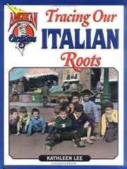 Cover of: Tracing our Italian roots
