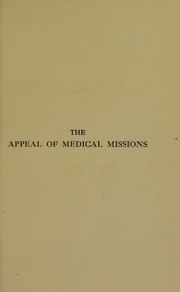 Cover of: The appeal of medical missions
