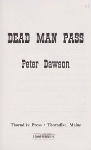 Cover of: Dead man pass