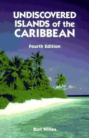 Cover of: Undiscovered islands of the Caribbean