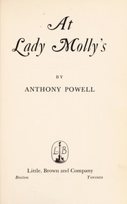 Cover of: At Lady Molly