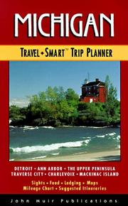 Cover of: Michigan: Travel Smart Trip Planner (1st ed)