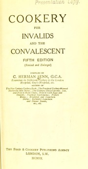 Cover of: Cookery for invalids and the convalescent