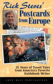 Cover of: Rick Steves' postcards from Europe