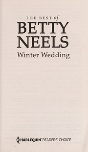 Cover of: Winter wedding | Betty Neels