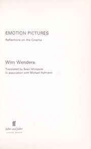 Cover of: Emotion pictures