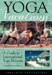 Cover of: Yoga vacations | Annalisa Cunningham