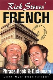Cover of: Rick Steves' French Phrase Book & Dictionary