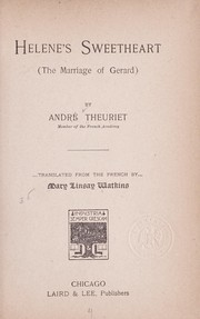 Cover of: Helene's sweetheart (The marriage of Gerard)