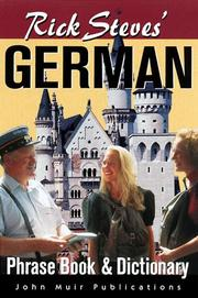 Cover of: Rick Steves' German Phrase Book & Dictionary