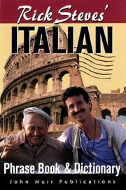 Cover of: Rick Steves' Italian Phrase Book & Dictionary