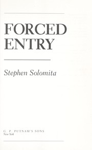Cover of: Forced entry | Stephen Solomita