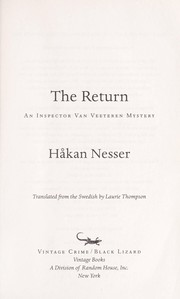 Cover of: The return | HГҐkan Nesser