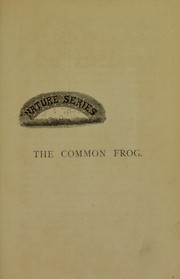 Cover of: The common frog