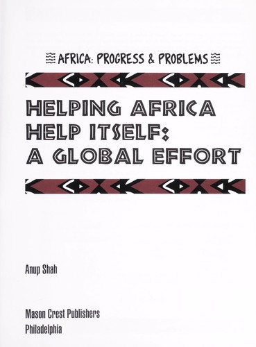 Helping Africa help itself by Anup Shah