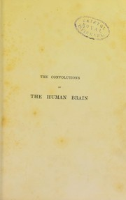 Cover of: On the convolutions of the human brain | Alexander Ecker