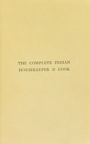 Cover of: The complete Indian housekeeper & cook