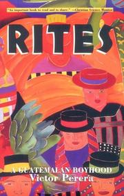 Cover of: Rites | Victor Perera