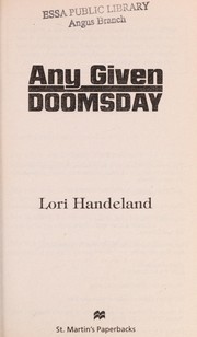 Cover of: Any given doomsday