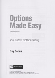 Cover of: Options made easy | Guy Cohen