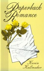 Cover of: Paperback romance
