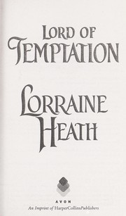 Cover of: Lord of temptation