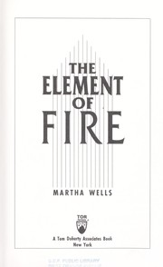 Cover of: The element of fire