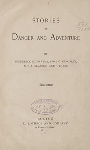 Cover of: Stories of danger and adventure