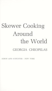 Cover of: Skewer cooking around the world