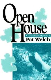 Cover of: Open house | Pat Welch