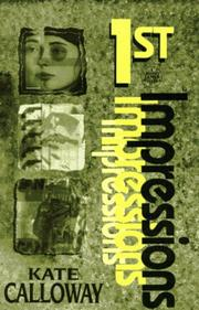 Cover of: 1st impressions