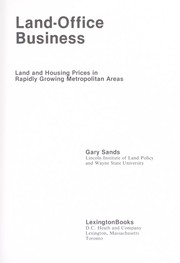 Cover of: Land/office business | Gary Sands
