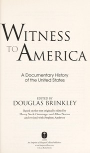 Cover of: Witness to America: A Documentary History