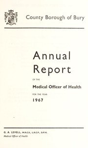 Cover of: [Report 1967]