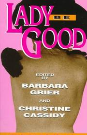 Cover of: Lady be good |