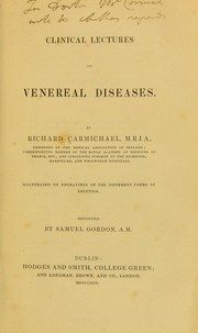Cover of: Clinical lectures on venereal diseases