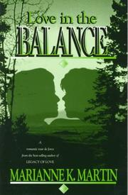 Cover of: Love in the balance